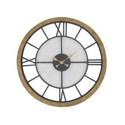 17 Stories Analog Wall Clock Aezaz Wall Clocks