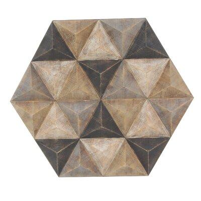 Corrigan Studio Wall Decor Hexagonal Wall Decor