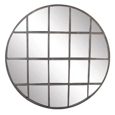 17 Stories Paneled Wall Mirror Round Mirrors