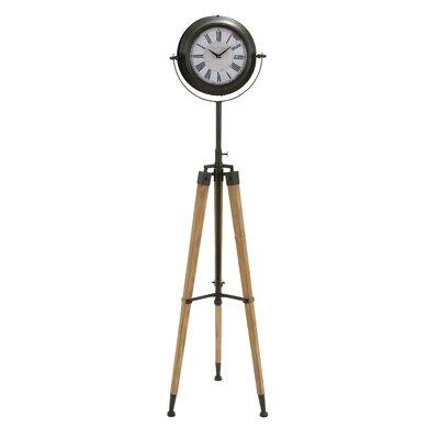 Uma Tripod Floor Clock Wood Grandfather Clocks