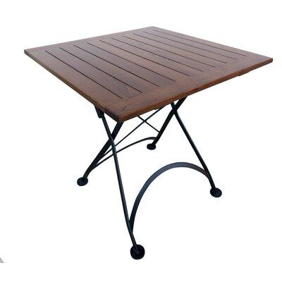 Furniture Designhouse Bistro Folding Wood Dining Table