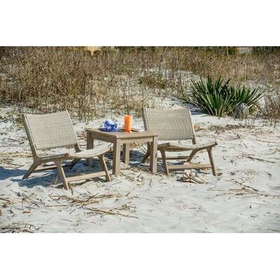 Mistana Patio Chair Teak Lounge Chairs