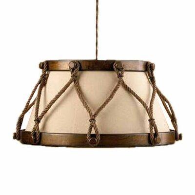 Rustik Tambor 1-Light Large Drum Pendant | 50 Nautical Inspired Ideas For Home Decor | Inexpensive Nautical Decor | DIY Home Decor | theMRSingLink