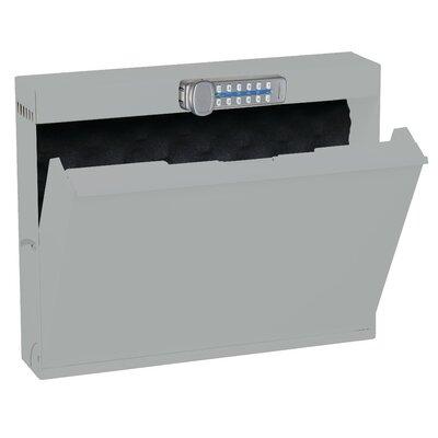Datum Storage Wall Locker Programmable Digital Lock Light Gray