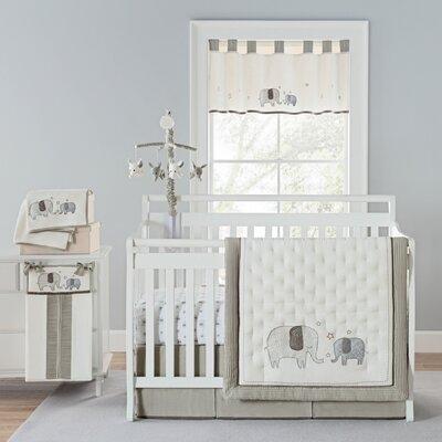 Greyleigh Baby Walk Crib Bedding Set Elephant Nursery