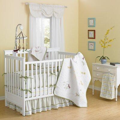 Laugh Giggle Smile Crib Bedding Set Garden Nursery