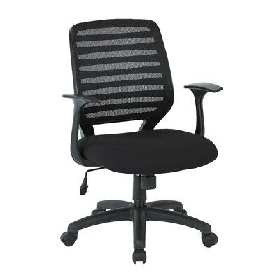 Ebern Designs Banta Mid Back Mesh Desk Chair Arms Product Photo