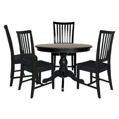 Andover Mills Biermann Wood Dining Set