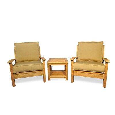 Regal Teak Conversation Set Cushions Regal