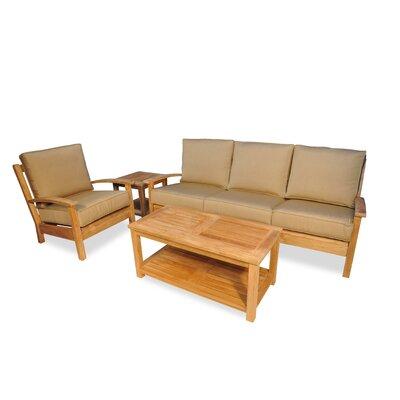 Regal Teak Sofa Set Cushions Regal Heather Beige