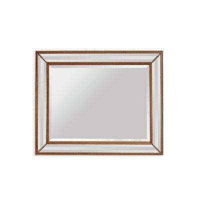 Willa Arlo Interiors Bronze Wood Wall Mirror Antique Mirrors