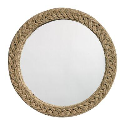 Jamie Young Jute Round Braided Mirror Product Photo
