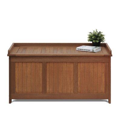 Ebern Designs Plywood Deck Box Storage Boxes
