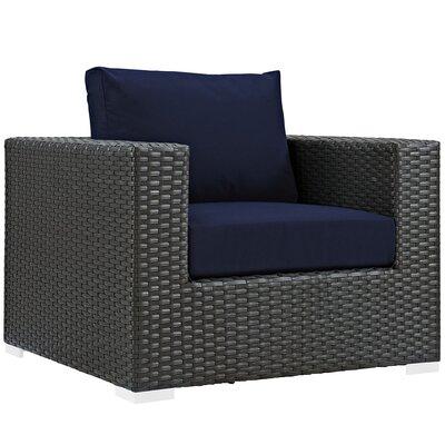 Brayden Studio Patio Armchair Cushion Outdoor Lounge Chairs