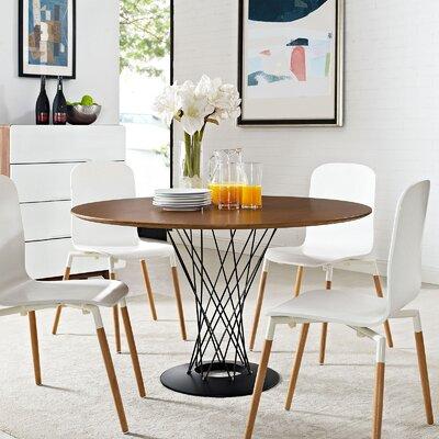 Corrigan Studio Wood Top Dining Table Springs Dining Tables