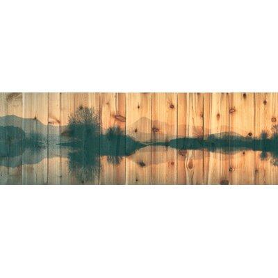 Still Lake Photographic Print On Cedar 7336 Photo