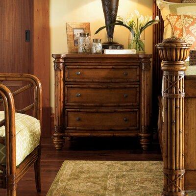 Tommy Bahama Drawer Bachelor Nightstand Estate Bedside Tables