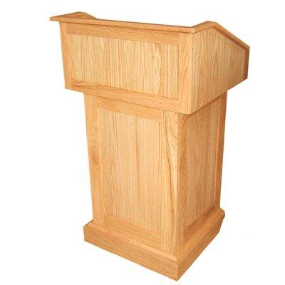 Wood Lectern