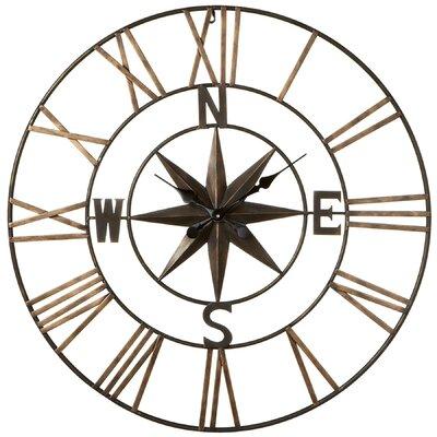 Loon Peak Compass Wall Clock Imran Wall Clocks