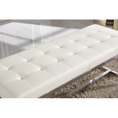 Bellasario Bench Upholstery White