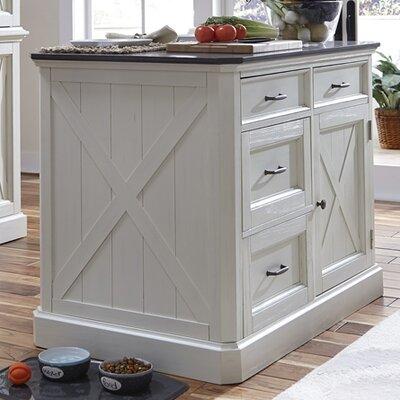 Island Set Engineered Quartz Top Kitchen