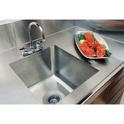 A Line Advance Tabco Single Bowl Kitchen Sink