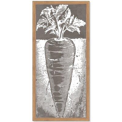 Carrot Framed Graphic Art Print