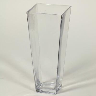 Square Flared Vase