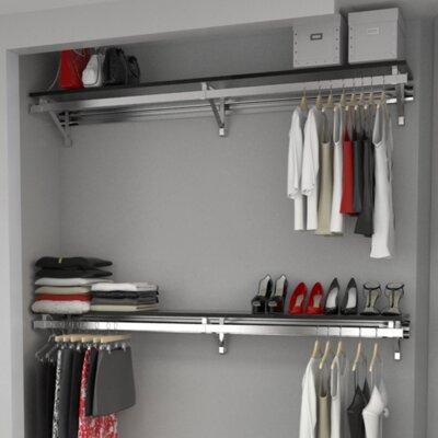 Orginnovations Heavy Duty Closet System Set A Closet Storage