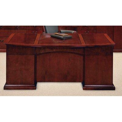 Bow Front Executive Desk