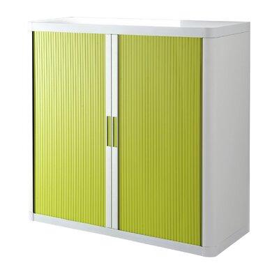 Paperflow Door Storage Cabinet Cabinet White Door Green