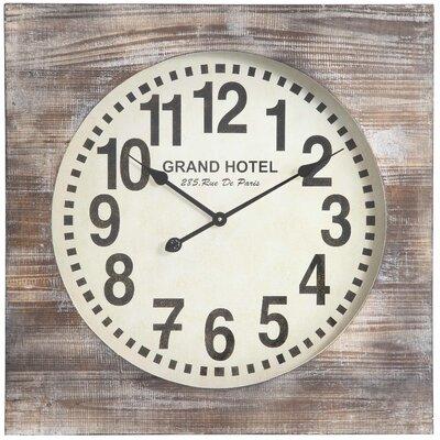 Cooper Classics Wall Clock Augusta Wall Clocks