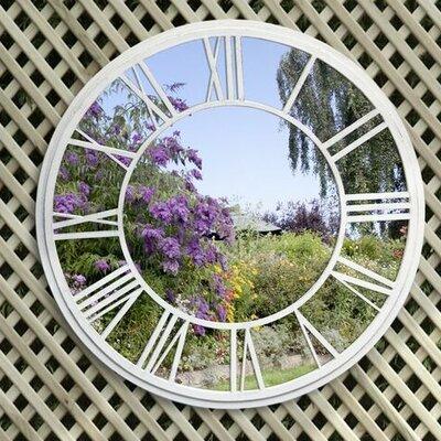 Suntime Roman Numeral Mirror Wall Decor Garden Wall Decor