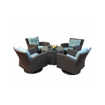 Elanamar Designs Conversation Set Cushions Natural