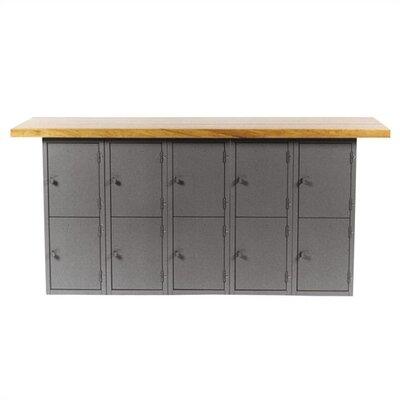 Shain Unit Wood Top Workbench Locker Workbenches