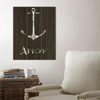 Anchor Wood Wall Art | 50 Nautical Inspired Ideas For Home Decor | Inexpensive Nautical Decor | DIY Home Decor | theMRSingLink