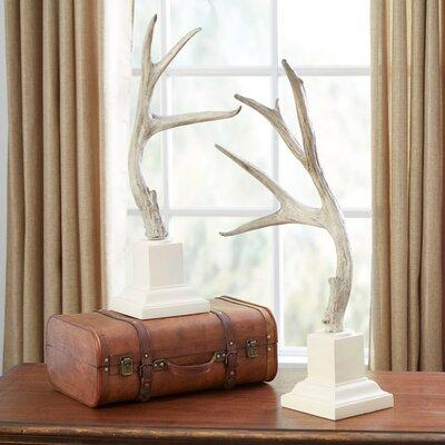 Millwood Pines Statues Antler Furniture