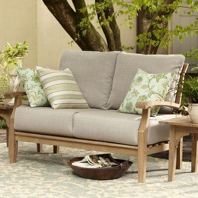 Birch Lane Loveseat Cushions Teak Sofas