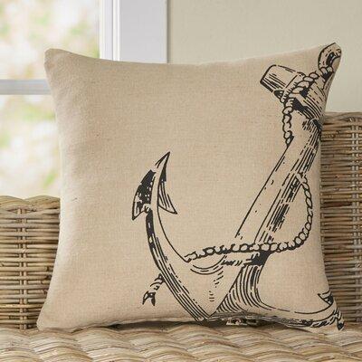 Corner Anchor Pillow | 50 Nautical Inspired Ideas For Home Decor | Inexpensive Nautical Decor | DIY Home Decor | theMRSingLink
