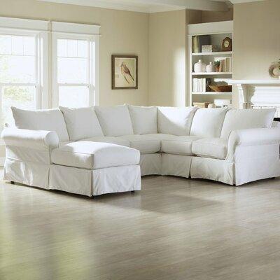 Birch Lane U Shaped Sectional Upholstered Corner Sofas