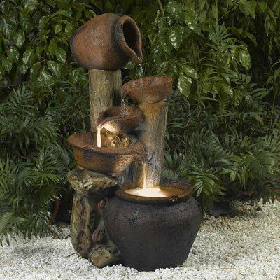 Pentole Pot Fountain Light Fiberglass 2654 Product Image