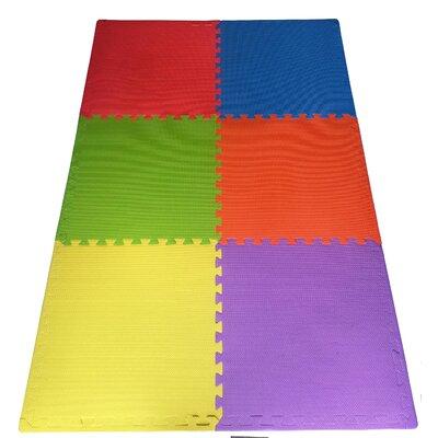 Multipurpose Anti-Fatigue EVA Foam Puzzle Floor Mat EFM-24-Multi