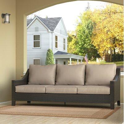 Serta At Home Wicker Patio Sofa Cushions Outdoor Sofas