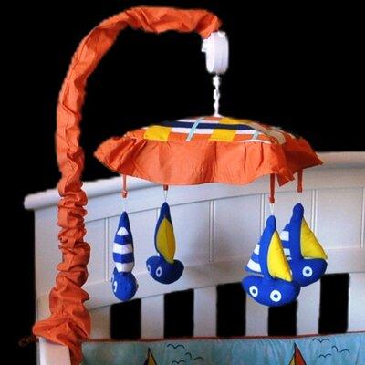 Baby Sailor Sailboat Musical Mobile sailmbl