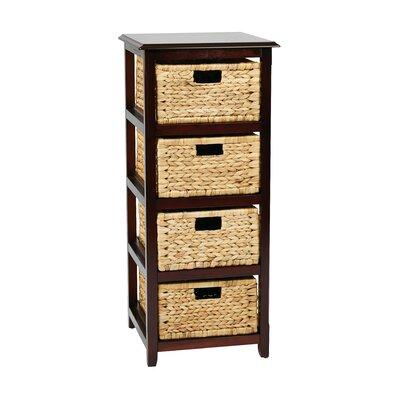 Beachcrest Home Wood Storage Chest Drawer Storage Drawers
