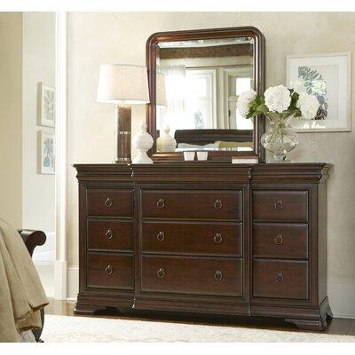Darby Home Drawer Dresser Mirror