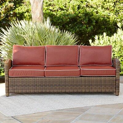 Birch Lane Heritage Sofa Cushions Sangria