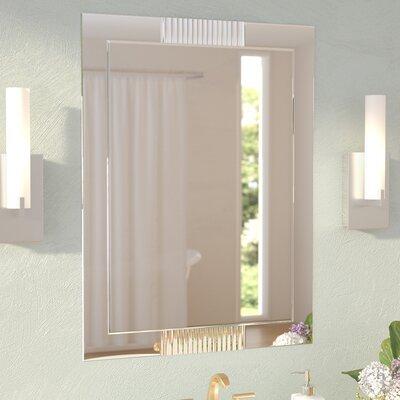 Wade Logan Glass Wall Mirror Modern Mirrors