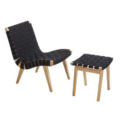 Brayden Studio Lounge Patio Chair Ottoman Beach Lounge Chairs