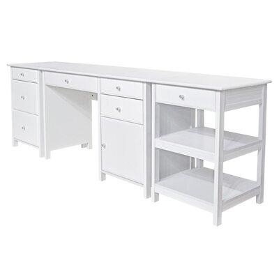 Three Posts Office Executive Desk Home Desks